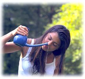 comment laver nez